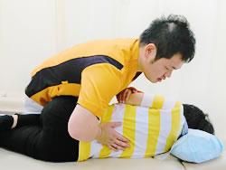 フジ式根本治療法の施術写真